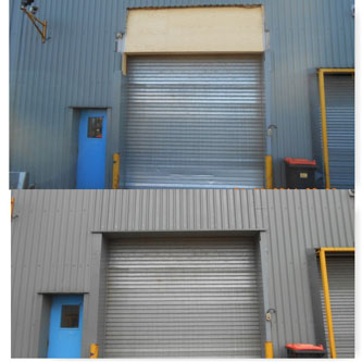 Industrial cladding 4