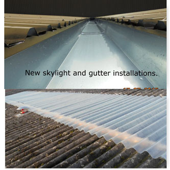 Roofing and guttering 12